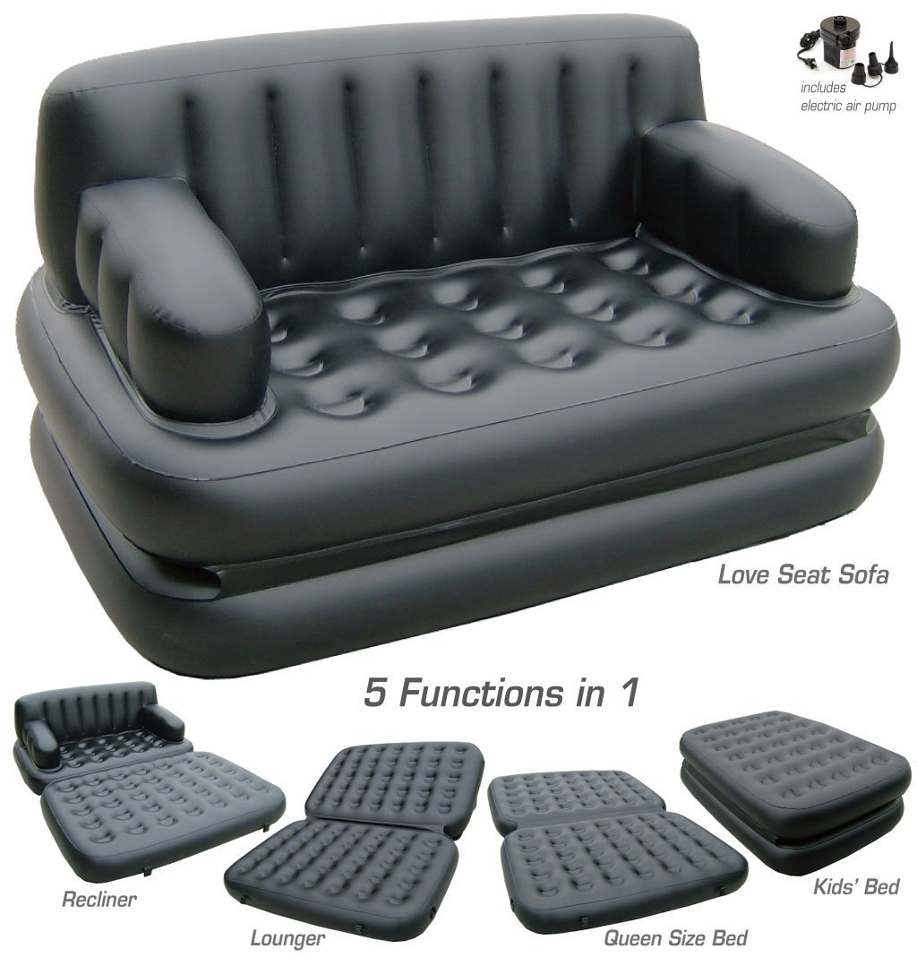 5 in 1 Comfort Sofa Bed
